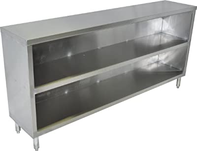 """John Boos EDSC8-1560 Stainless Steel Economy Dish Storage Cabinet, 60"""" Long x 15"""" Deep, 35"""" Tall from John Boos & Co."""