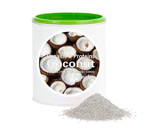 Kokospulver – Bio Kokosmehl getrocknet |bio organic| dried coconut flour| good-proteins von good-smoothie| 100{d097a71f19c545b516794464153ead0a4ce3e8476ae86429eddabcf9661368e3} frucht |ohne zusatzstoffe + viele Inhaltsstoffe| 150g