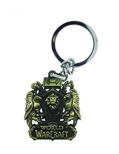 Llavero Escudo World Of Warcraft Alianza