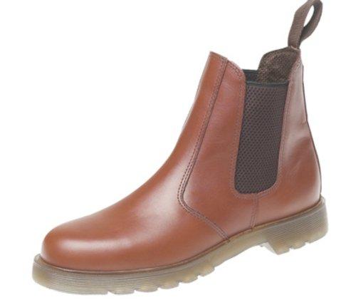 Grafters Skórzane buty firmy Chelsea Dealer. Podeszwa z poduszką powietrzną., - @@ - 40 EU