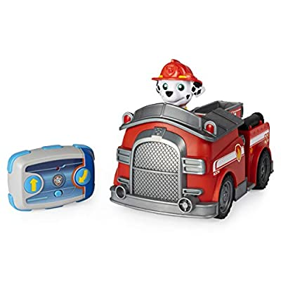 PAW Patrol, Remote Control Fire Truck with 2-Way Steering, for Kids Aged 3 and Up by Paw Patrol