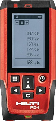 HILTI 2061408 PD1 Laser-Distanzmessgerät mit Pulse Power Technology