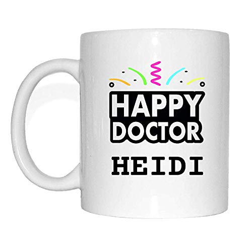 JOllify mok afsluiting cadeau voor HEIDI beker mok MD5408 Happy Doctor