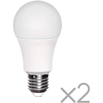Wonderlamp W-B000069 Pack 2 Bombillas LED E27 con sensor ...