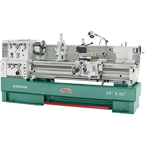 Amazing Deal Grizzly Industrial G0600-20 x 60 3-Phase Big Bore Metal Lathe