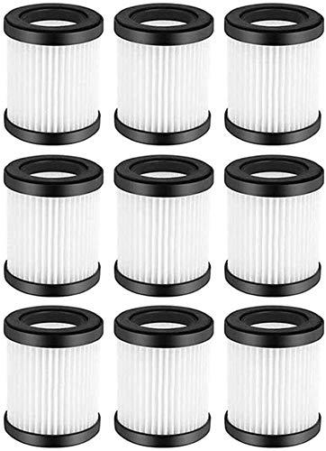 sunjiaxingzd 9 filtros para aspiradora con cable D600 D601 HEPA Elementos para aspiradora