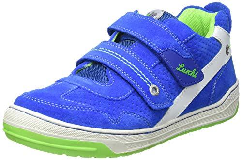 Lurchi Bruce Sneaker, Cobalt NEON Green, 31 EU