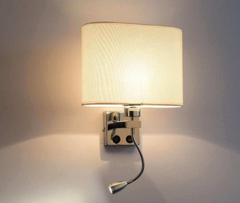 YJWOZ Escalera Creativa Minimalista Moderna Hotel Salón Dormitorio Pasillo Balcón Led Luminaria De Parojo Interruptor De Parojo con Interruptor Sin Fuente De Luz lámpara de Parojo (Estilo   A)