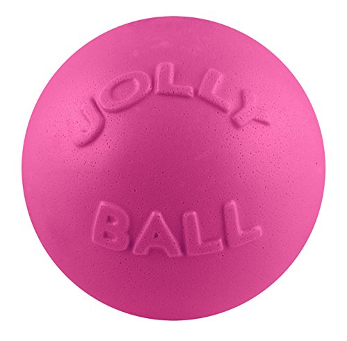 Jolly Pets Ball Bounce-n Play Jouet pour Chien Rose 20 cm