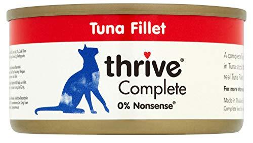 Thrive Complete Katzenfutter 100 % Thunfisch, 75 g, 12 Stück