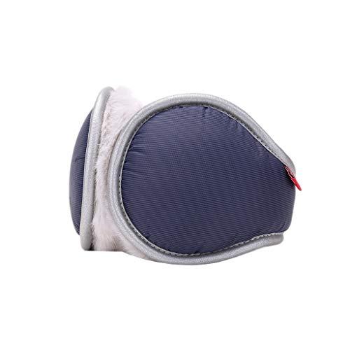 ZJ Warm halten Earmuffs Warm Earmuffs Earmuffs Mann-Winter Earmuffs Frauen im Freien Earmuffs Warm warm (Color : Dark Blue)