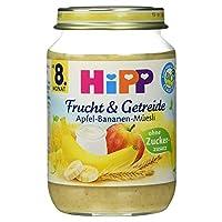 Hipp Frucht & Getreide Apfel-Banane-Mテシsli 190 g