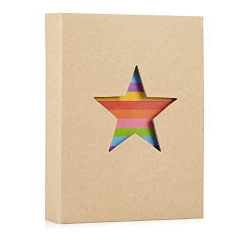 Hofmann - Álbum de fotos diseño de estrella, para 18 x 13 cm