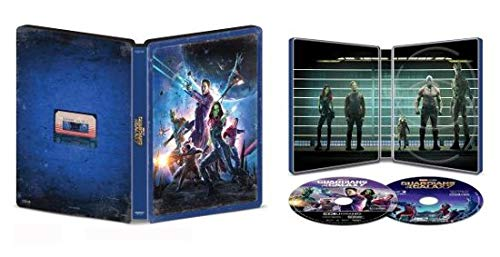 Guardians of the Galaxy 4K Limited Edition Collectible Steelbook; 4K + Blu Ray + Digital [Blu-ray]
