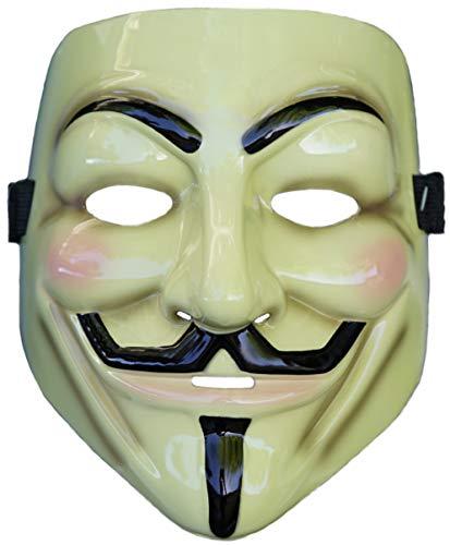 Rubie's Costume Co. V for Vendetta Mask, Multicolor, One Size