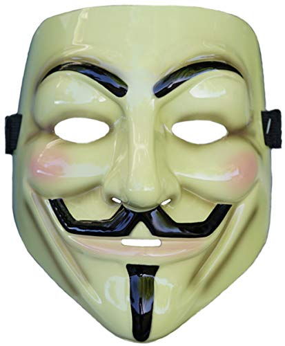 Rubie's Costume Co. V for Vendetta Mask, Multicolor, One Size