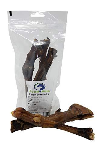 Food4Pets Hundeleckerli Lamm Unterbeine - 3 Stück im wiederverschließbaren Beutel