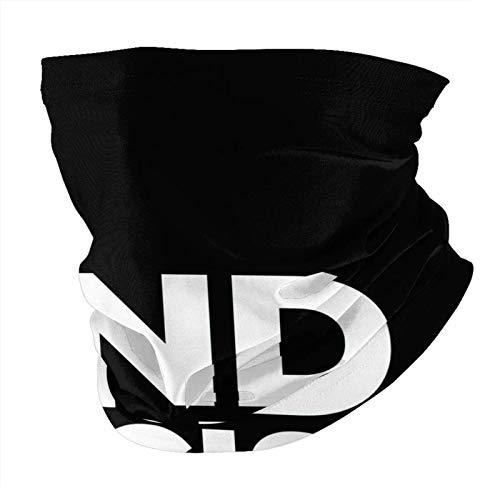 Lawenp Poner fin al racismo Ropa de hombres y mujeres Cuellos Todo tipo de bufandas A prueba de polvo, para uso al aire libre Cuellos, collares, bufandas, bufandas mágicas Negro