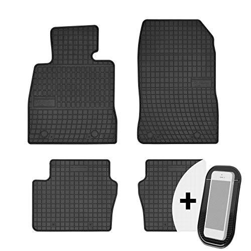 moto-MOLTICO Gummimatten Auto Fußmatten Gummi Automatten Passgenau 4-teilig Set - passend für Mazda 2 III ab 2015