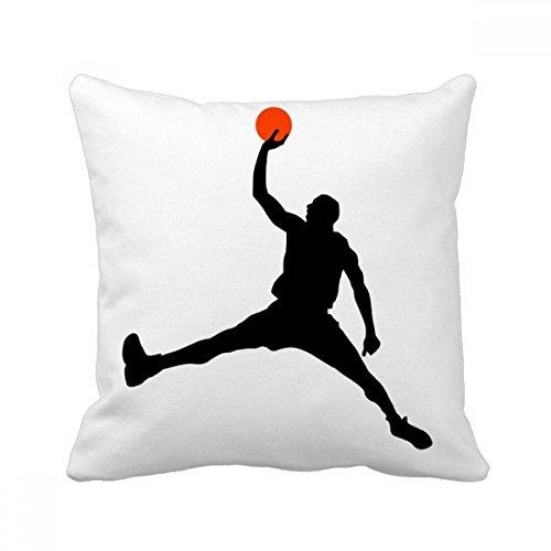 DIYthinker Capa de almofada para sofá de dormir Slam Dunk Sports Basketball Running