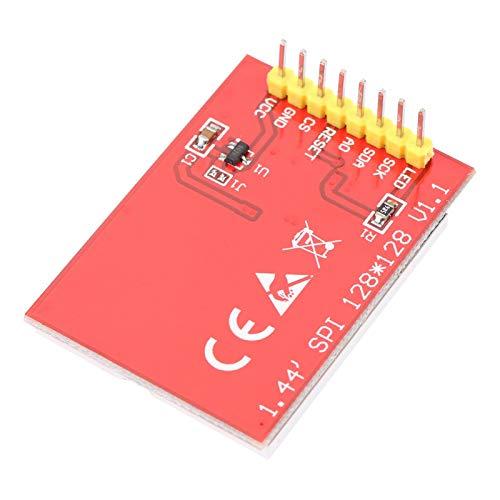 Módulo de panel de pantalla LCD, módulo de puerto serie LCD a color 128X128 Módulo de panel TFT a color Módulo de pantalla TFT LCD con placa PCB para 5110/3310
