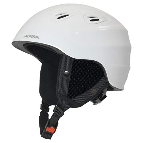 Alpina Sports Unisex– Erwachsene JUNTA 2.0 Skihelm, White, 57-61