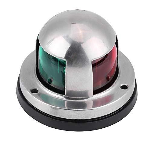 Marine LED Navigationslichter für Boote Marine Navigationsleuchte, wasserdicht 12V/24V Edelstahl Rote & Grüne LED für Boot Ponton Yacht Skeeter Zubehör