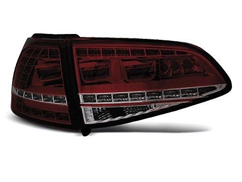 Shop Import 1 paar achterlichten Golf 7 13-17 look GTI rood LED (WG1)