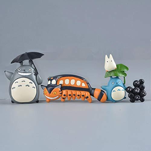4Pcs Mini My Neighbor Totoro Fairydust Magnete Del Frigorifero Decorazione Del Frigorifero Souvenir Adesivo Magnetico Studio Ghibli Figure In Resina Anime
