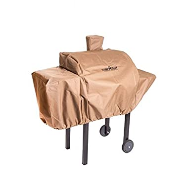 Camp Chef Weather Resistant Nylon Heavy Duty 24  Pellet Grill Patio Cover, Tan