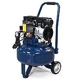 20 Gallon Ultra Quiet Air Compressor,1.0 HP, Oil-Free Air Tools, Max 120 PSI Pressure, 63 Decibel Long Life Electric Air Compressor W/Wheel for Garage, Jobsite