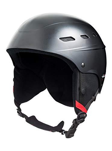 Quiksilver Rooky-Snowboard/Esquí Casco, Hombre, True Black, L/XL