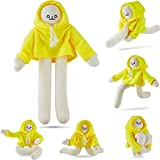 Banana Doll Man Plush Banana Toy Man with Magnet Changeable Plush Pillow Toy Man Doll Decompression Toy Stuffed Doll Toy Present for Boys Girls Birthday Party Festivals (16 Inch)