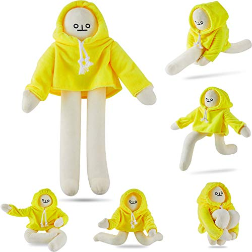 Skylety Banana Doll Man Plush Banana Toy Man with Magnet Changeable Plush Pillow Toy Man Doll Decompression Toy Stuffed Doll Toy Present for Boys Girls Birthday Party Festivals