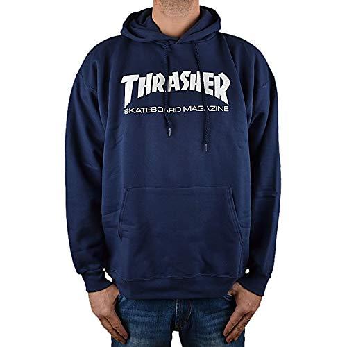 Sweatshirt à capuche Thrasher Hometown - Nleu marine - Bleu - Small