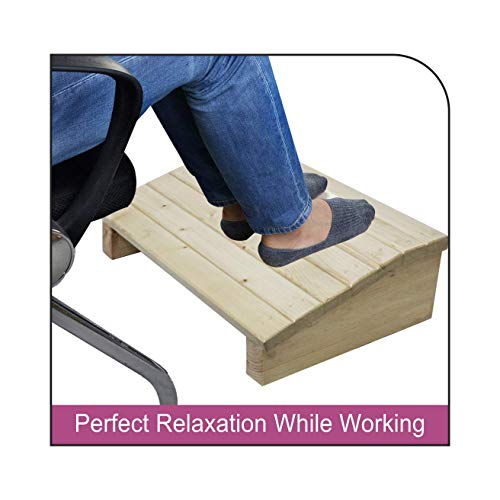 Dime Store Foot Rest Under Table for Work From Home Office