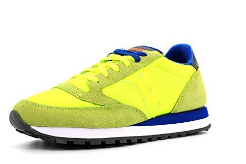SAUCONY chaussures hommes baskets basses S2044-558 JAZZ ORIGINAL taille 40 Jaune fluorescent