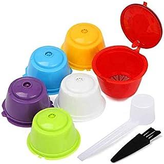HaavPoois Capsules de filtres à café Dolce Gusto réutilisables, capsules de café rechargeables, capsules de café de rechan...