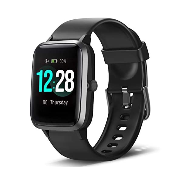 LETSCOM Smart Watch Fitness Tracker Heart Rate Monitor Step Calorie Counter Sleep...