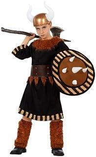 Atosa–23366–Disfraz–Disfraz de vikingo para niño–Talla 1