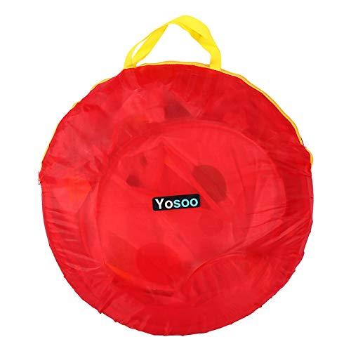 Lazmin112 Tienda de Juegos de Piscina de Bolas para bebés de Tienda de casa de Juegos portátil para el hogar