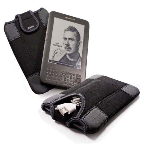 "Duo-Pad Neopren / Neoprenschutzhülle Hülle Tasche Sleeve Case für alle 6\"" ebook readers / ereaders Sony Reader PRS-650 / PRS-600 / Iriver Story / Be-book / Nook / Elonex / KObo"