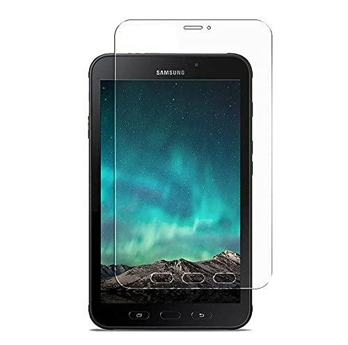 Protector de pantalla de cristal templado compatible con Samsung Galaxy Tab Active3 LTE (SM-T575)