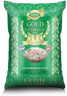 GOLD Sella Basmati Rice 1121 Rice XXL, 10 kg (Pack of 1)