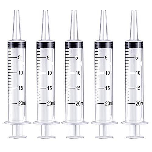 Aobp Kunststoff-Spritzen für wissenschaftliche Labore und Dosierung, vielseitig verwendbar, Messspritze