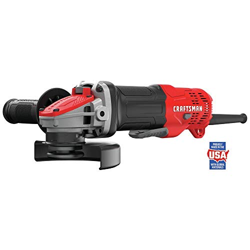 CRAFTSMAN Angle Grinder, Small, 4-1/2-Inch, 7.5-Amp, Tool Only (CMEG200)