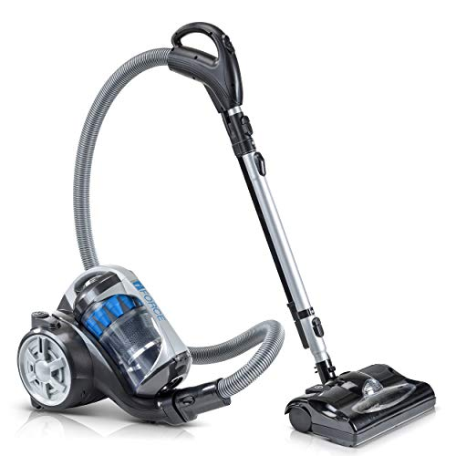 2019 Prolux iFORCE Light Weight Bagless Canister Vacuum Cleaner Hepa Filtration & Power Nozzle