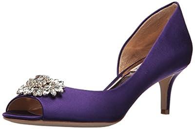 Badgley Mischka Women's Macie Pump, Violet,7 M US