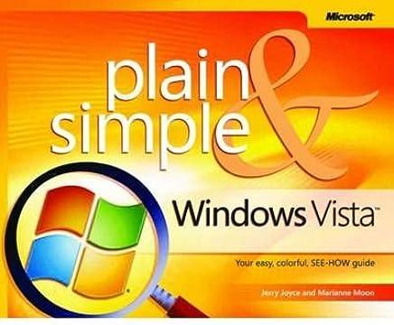 [(Microsoft Windows Vista Plain and Simple )] [Author: Jerry Joyce] [Jan-2007]