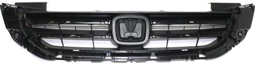 Go-Parts - OE Replacement for 2013 - 2015 Honda Accord Grille Assembly (CAPA Certified) HO1200214C HO1200214C Replacement For Honda Accord